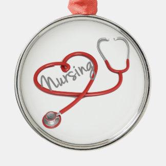 Ornamento del oficio de enfermera adornos de navidad