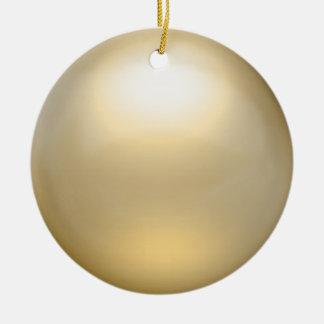Ornamento del orbe del oro ornaments para arbol de navidad