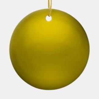 Ornamento del orbe del oro del satén adorno de reyes