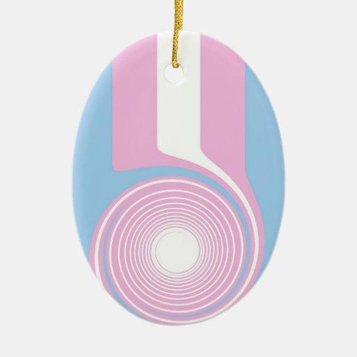 Ornamento del orgullo del transexual ornamentos de reyes magos