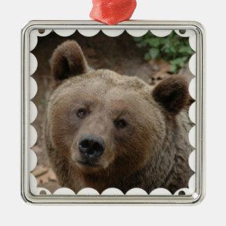 Ornamento del oso de Brown Ornamentos Para Reyes Magos