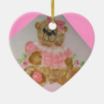 ornamento del oso del bebé adorno