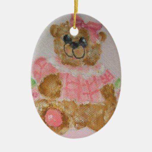 ornamento del oso del bebé ornamento de reyes magos