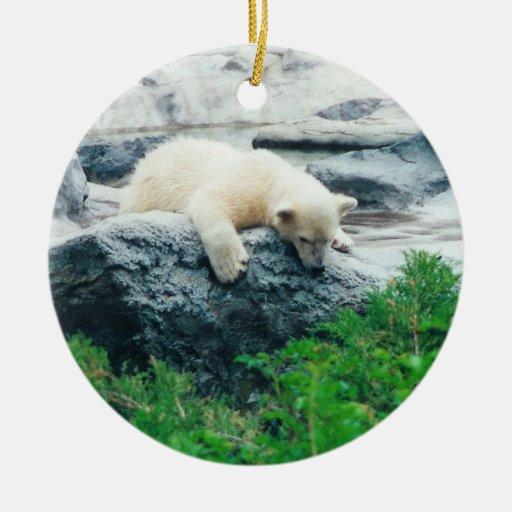 Ornamento del oso polar adornos