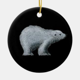 Ornamento del oso polar adorno para reyes