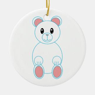 Ornamento del oso polar ornamento para reyes magos