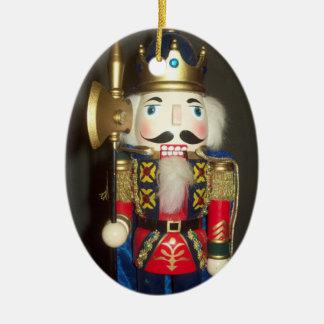Ornamento del óvalo del cascanueces ornamento de reyes magos