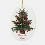 Ornamento del óvalo del navidad del árbol de ornamentos para reyes magos