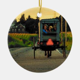 Ornamento del país de Amish Ornatos
