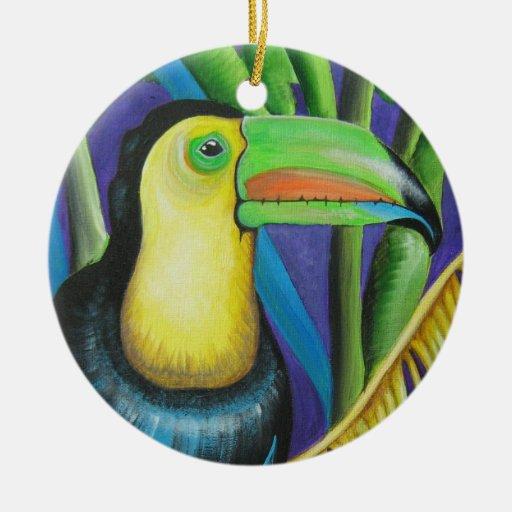 Ornamento del pájaro de Toucan Adorno De Reyes