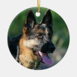 Ornamento del pastor alemán adorno de navidad