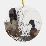 Ornamento del pato adorno de navidad