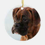 Ornamento del perrito del boxeador ornamentos para reyes magos