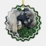 Ornamento del perrito del pastor alemán ornamentos de reyes magos