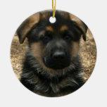 Ornamento del perrito del pastor adornos de navidad