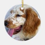 Ornamento del perrito del perro de aguas de saltad adorno para reyes