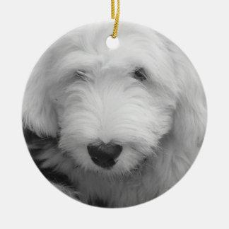 Ornamento del perrito del perro pastor adornos