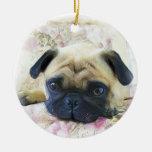 Ornamento del perro del barro amasado ornamente de reyes