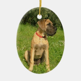 Ornamento del perro del mastín ornamento de navidad