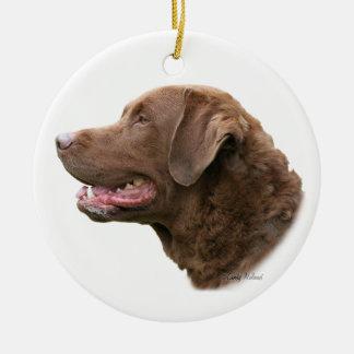 Ornamento del perro perdiguero de bahía de Chesape Adorno De Navidad