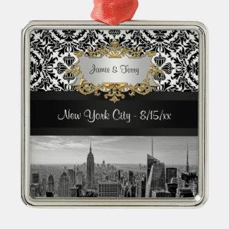 Ornamento del personalizable del horizonte 431 de adornos de navidad