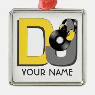 Ornamento del personalizado de DJ Adorno Para Reyes