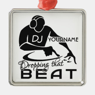 Ornamento del personalizado de DJ Ornatos