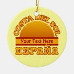 Ornamento del personalizado de ESPAÑA Costa del Adorno De Reyes
