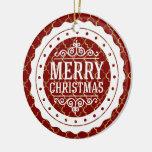 Ornamento del personalizado de las Felices Navidad Ornamentos De Reyes Magos