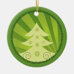Ornamento del personalizado de las Felices Navidad Ornamentos De Reyes