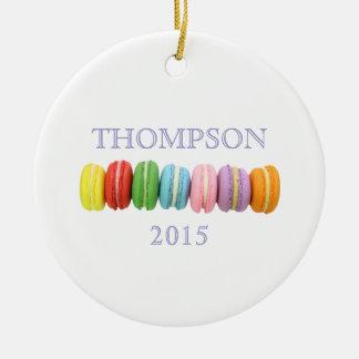 Ornamento del personalizado de Macarons Adorno