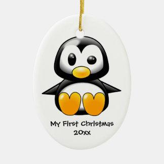 Ornamento del pingüino del bebé ornato