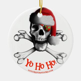 Ornamento del pirata del navidad adornos de navidad
