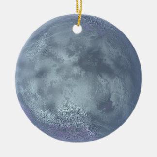 Ornamento del planeta adorno redondo de cerámica