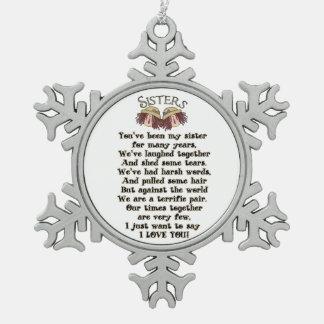 Ornamento del poema del día de fiesta del navidad  adornos