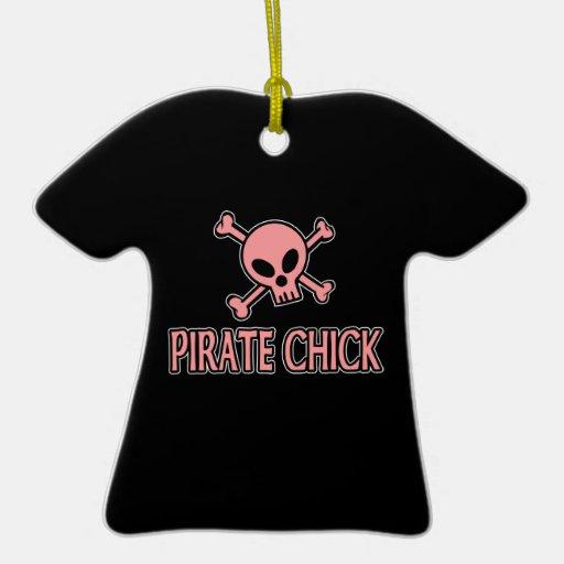 Ornamento del polluelo del pirata ornamentos para reyes magos