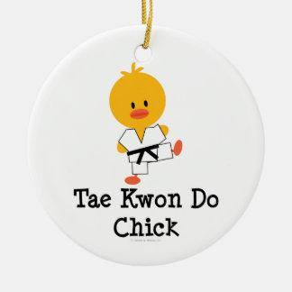 Ornamento del polluelo del Taekwondo Adorno