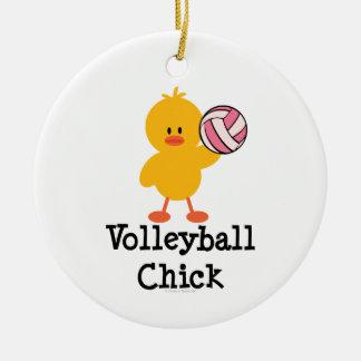 Ornamento del polluelo del voleibol adorno