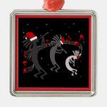 Ornamento del premio del navidad de Kokopelli Ornamentos De Navidad