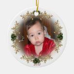"""""""Ornamento del primer navidad del bebé"""" Adorno Para Reyes"""