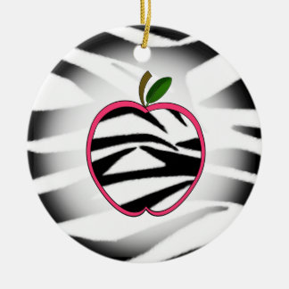 Ornamento del profesor de Apple del estampado de z Ornamentos Para Reyes Magos
