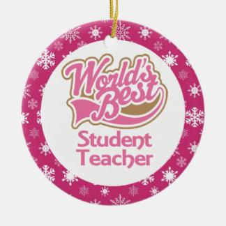 Ornamento del profesor del profesor estudiante ornamento para reyes magos