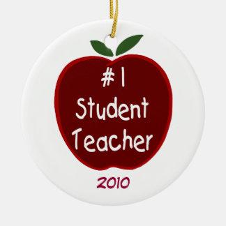 Ornamento del profesor estudiante #1 adorno