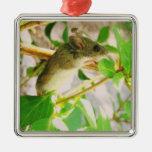 Ornamento del ratón ornamento para arbol de navidad