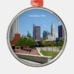 Ornamento del recuerdo de Columbus, Ohio Adorno De Navidad