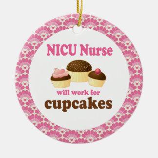Ornamento del regalo de la enfermera de NICU Ornatos