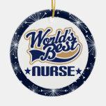 Ornamento del regalo de la enfermera adornos de navidad