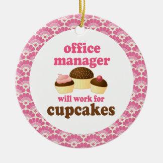 Ornamento del regalo del administrador de oficinas adornos