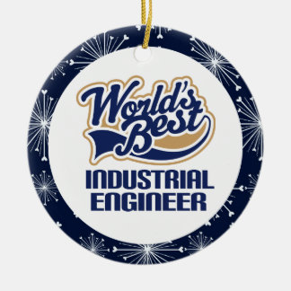 Ornamento del regalo del ingeniero industrial ornato