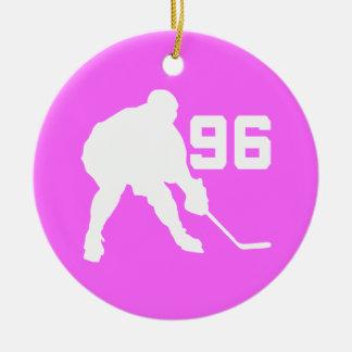 Ornamento del regalo del número 96 del jugador del ornatos